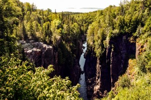 Aguasabon River Gorge, Terrace Bay, Ontario