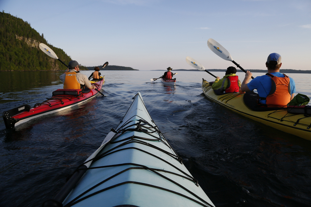 Kayaking in Rossport