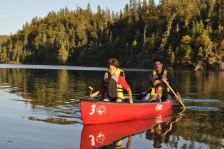Parks-Canada Canoeing-Hattie-Cove