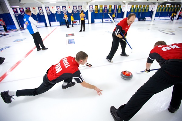 The Dominion Curling Club Championship, Thunder Bay, ON. Photo Anil Mungal