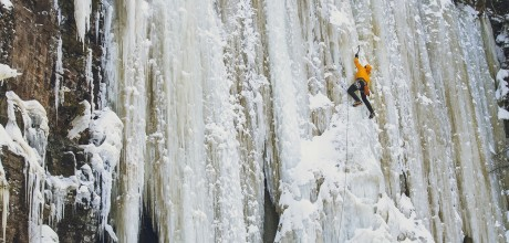 LOCATION: NIPIGON ICE CLIMBING